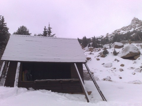 After all there are time when a shelter is available anyway (A Frame on the Barr Trail / Pikes Peak)