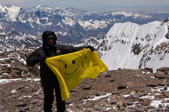 Cerro Aconcagua - Smiley Face - 1024