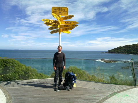 "End of the ""Te Araroa"" trail"
